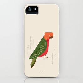 Australian King Parrot, Bird of Australia iPhone Case