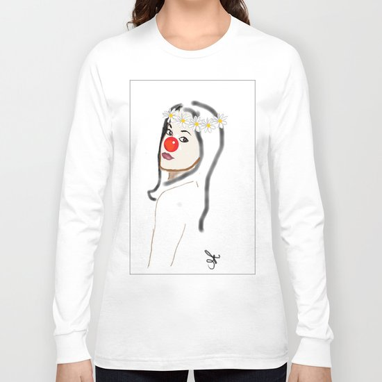 Rudolph Selfie - The Ghost of Christmas Present - The Christmas Spirit from A Christmas Carol Long Sleeve T-shirt