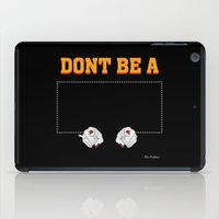 mia wallace iPad Cases featuring Don't Be a Square / Mia Wallace by Woah Jonny
