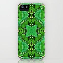 Harmonizing Leaves iPhone Case