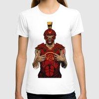 gladiator T-shirts featuring German Gladiator Podolski by Akyanyme