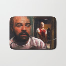 Escape From Sodom - Butch And Zed - Pulp Fiction Bath Mat