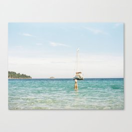 The Best Day of Summer  Canvas Print