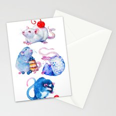 Sweet Rats Stationery Cards