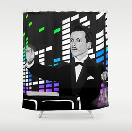 Theremin Ultra Shower Curtain