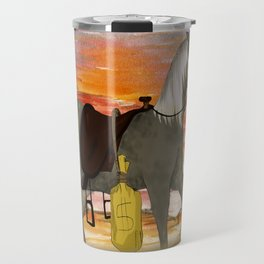SenditBack - Greyfox's horse Travel Mug