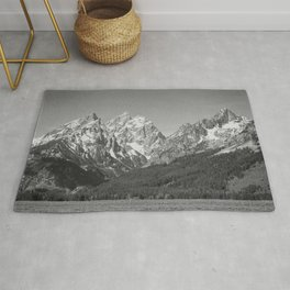 Ansel Adams - Grass Valley and Grand Tetons Rug
