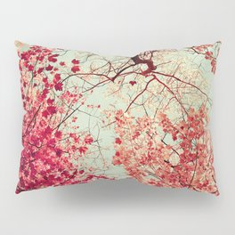 Autumn Inkblot Pillow Sham