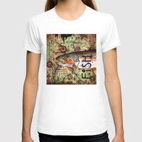 trout T-shirts featuring Trout Collage by MoosePaw