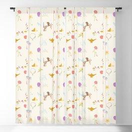 Princess Basics - Yellow Blackout Curtain