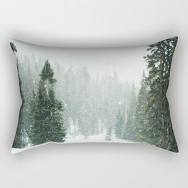 Winter Pace Rectangular Pillow