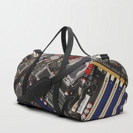 Computer motherboard Duffle Bag