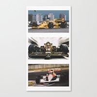 senna Canvas Prints featuring Senna by Rassva