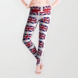 flag of uk 3 - London,united kingdom,england,english,british,great britain,Glasgow,scotland,wales Leggings