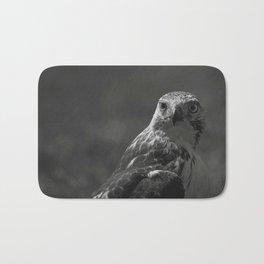Birds Eye View #society6 #art #prints // Black And White Animal Photography Bath Mat