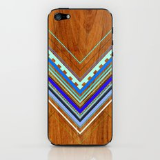 Aztec Arbutus Blue iPhone & iPod Skin