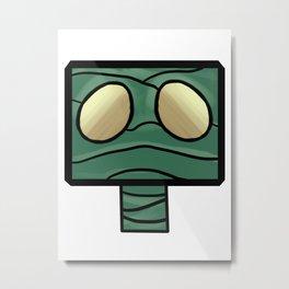 Amumu Blocks Metal Print