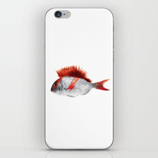FISHY STARDUST iPhone & iPod Skin