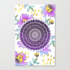 BLOOM MANDALA Canvas Print