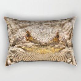 Bearded Dragon Rectangular Pillow