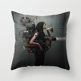 Madame Cinematic Throw Pillow