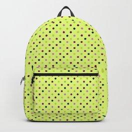 Hellebores Dots - Chartreuse Backpack