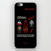 true blood iPhone & iPod Skins featuring True Blood Logos by CLM Design