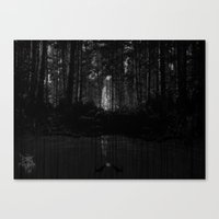 returns Canvas Prints featuring she returns by Sinister Star