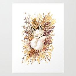 Slumber Art Print