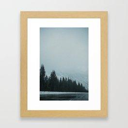 Cascading Calls Framed Art Print
