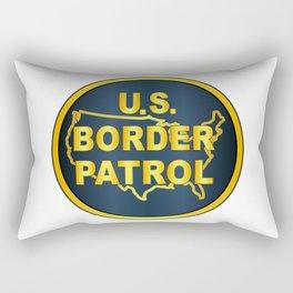 United States Border Control Rectangular Pillow