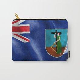 Montserrat Flag Carry-All Pouch