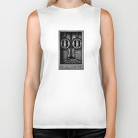 industrial Biker Tanks featuring D1 Industrial by HOMER LIWAG