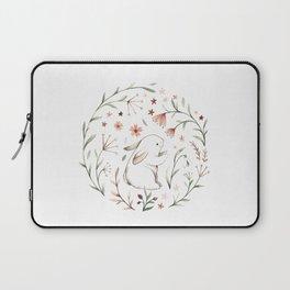 Watercolor Bunny Laptop Sleeve