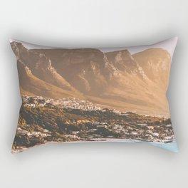 Cape Town, South Africa Travel Artwork Rectangular Pillow