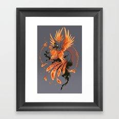 The Avian Arsonist Framed Art Print