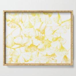 Ginkgo biloba (Autumn gold) Serving Tray