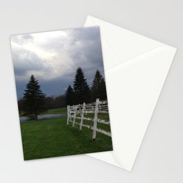 farm in the Catskill Mountains Stationery Cards