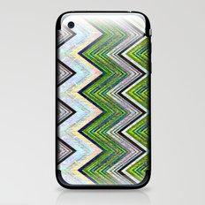 Emerald Chevron iPhone & iPod Skin