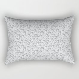 silver water drops Rectangular Pillow