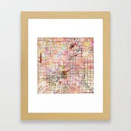 Indianapolis Framed Art Print