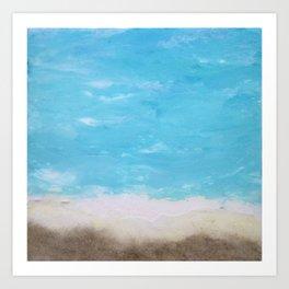 Ocean Elements  Art Print