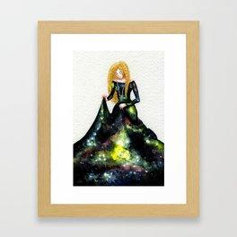 Miss Galaxy Gerahmter Kunstdruck