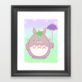 TotoroFan art  Framed Art Print