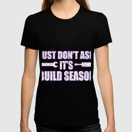Do not inquire construction season engineer gift T-shirt