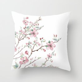 Apple Blossom 2 #society6 #buyart Throw Pillow