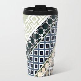 Folk textiles , patchwork Travel Mug