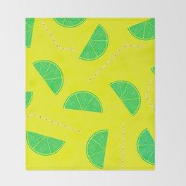 Summer Drinks - Lemonade Throw Blanket