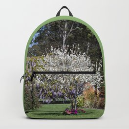 Spring Country Garden Backpack