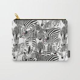 ZEBRI ZEBRA / pattern pattern Carry-All Pouch